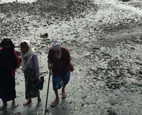 myanmar refugees